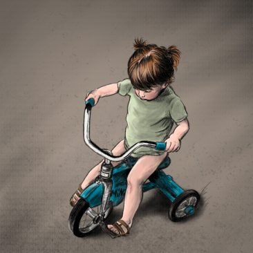 Ride on the Tricycle