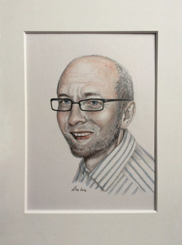 50th Birthday present - portrait of my uncle