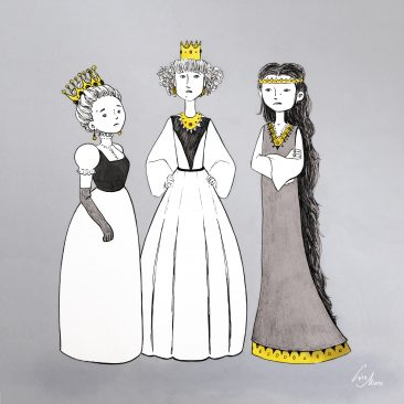 Three Little Princess by Lisa Mona